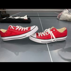 Red Converse Low-top